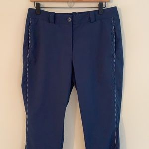 Nike Golf Tour Performance pants in blue.